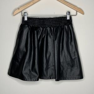 BCBGeneration Faux Leather Skirt